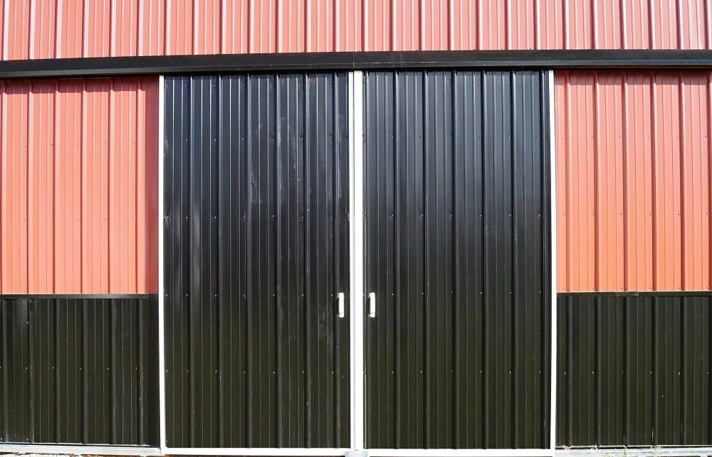 Two Door Options for Pole Barns