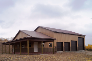 Commercial And Industrial Pole Barns Mqs Structures