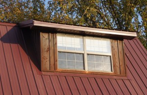 Shed roof dormers