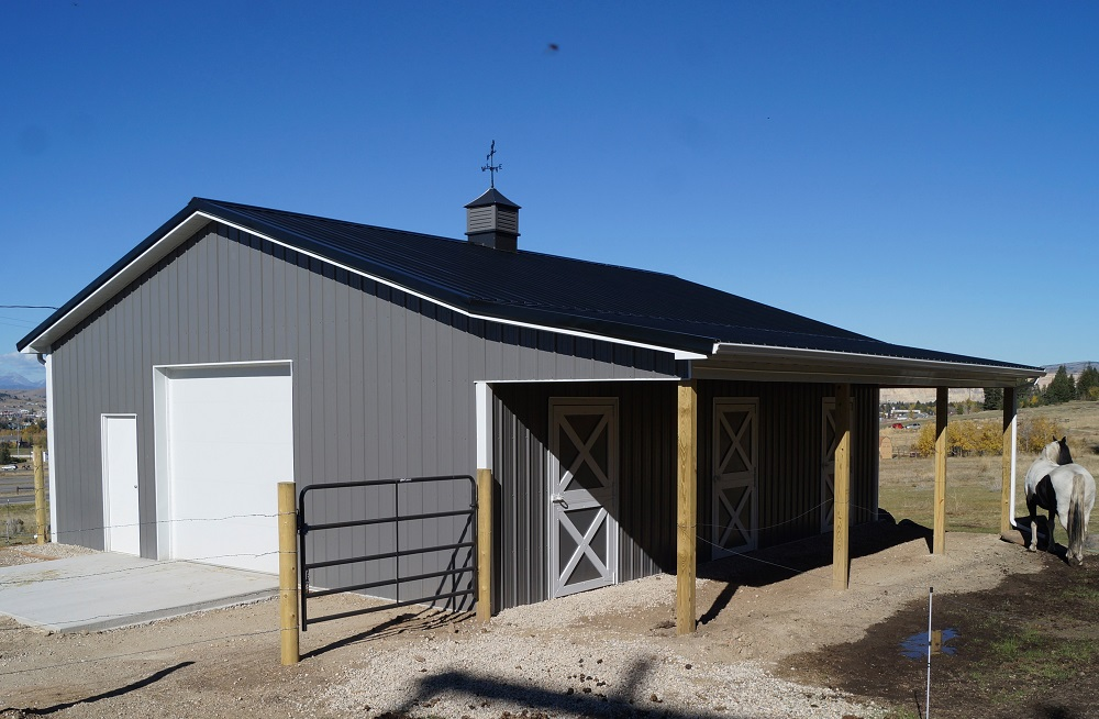 Horse barns riding arenas mqs structures for Horse barn prices