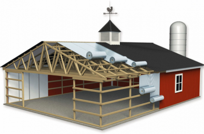 Agricultural buildings in Ohio | Amish barn builders in Ohio