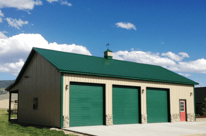 Post Frame Building Options Agricultural buildings in Ohio | Amish barn builders in Ohio