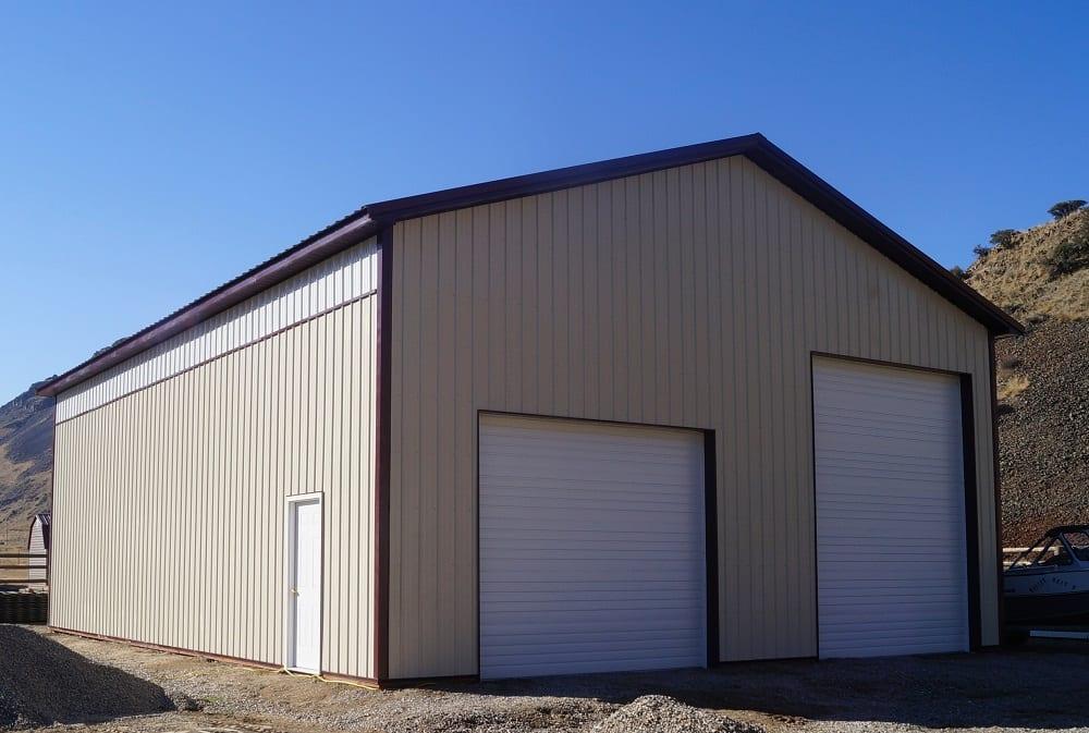 Quality Pole Barn Company Garage