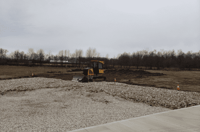 Beginning Phases of Building a Pole Barn