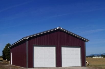 Agricultural buildings in Ohio