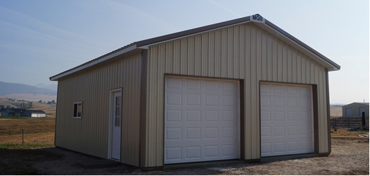 post frame building in West Virginia