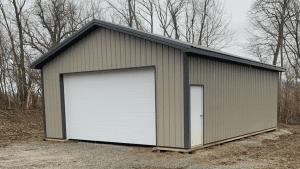 Kentucky post frame building