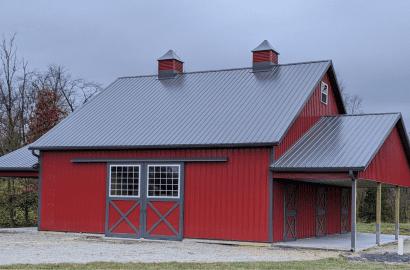 Kentucky farm buildings