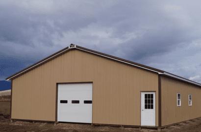 Custom Pole Barn In Cumberland