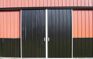 Split sliding door