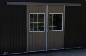Split slider with windows